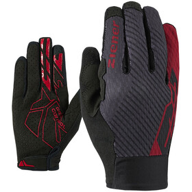 Ziener Curtiz Touch Gants Homme, red pop